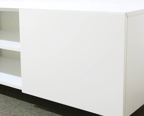 AVボード テレビ台 収納 白 シンプル LUCE(ルーチェ)