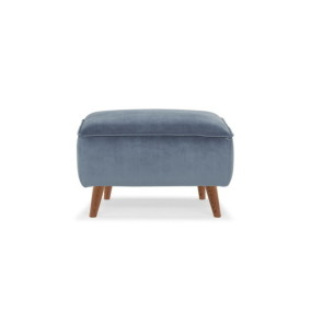 taylerottomanMD2204 Footrest, Fabric Stax 069 Dust Blue, Ash leg in color 2537SK (1)
